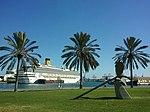 Foto del Crucero Costa Magica en el Muelle de Santa Catalina del Puerto de Las Palmas de Gran Canaria (6432555865).jpg