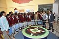Foucault Pendulum Demonstration - Ranchi Science Centre - Jharkhand 2010-11-29 8868.JPG