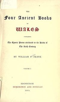 Four Ancient Books of Wales cover