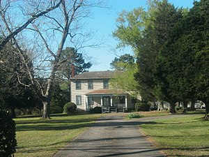 Four Square (Smithfield, Virginia) - Front of the house, April 2017