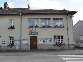 The town hall in Frémonville