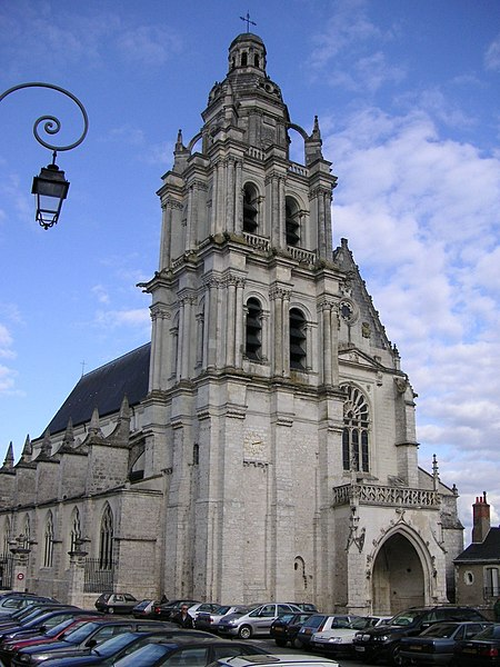France, Blois Cathedral.