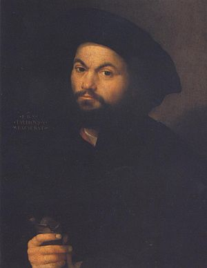 Francesco Torbido - Francesco Torbido, Self Portrait