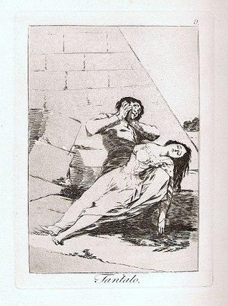 Tantalus - Image: Francisco de Goya Tantalo