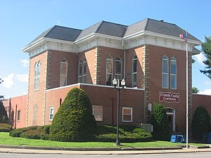 Franklin County Courthouse in Benton