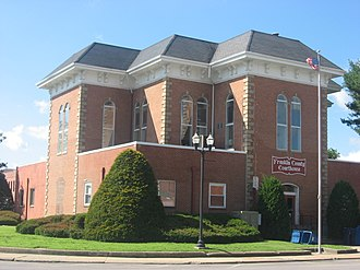 Franklin County, Illinois - Image: Franklin County Courthouse in Benton