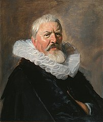 Square portrait of Pieter Jacobsz Olycan