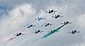 Frecce Tricolori NL Air Force Days (9291482466).jpg
