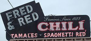English: Fred and Red's diner in Joplin, Misso...