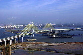 Fred Hartman Bridge - Image: Fred Hartman Bridge Houston