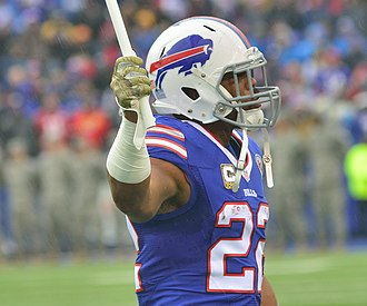 Fred Jackson (American football) - Jackson with the Buffalo Bills in 2014