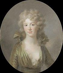 Frederica Louisa Wilhelmina (1774-1837), prinses van Pruisen. Sedert 1791 echtgenote van Willem Frederik, prins van Oranje-Nassau