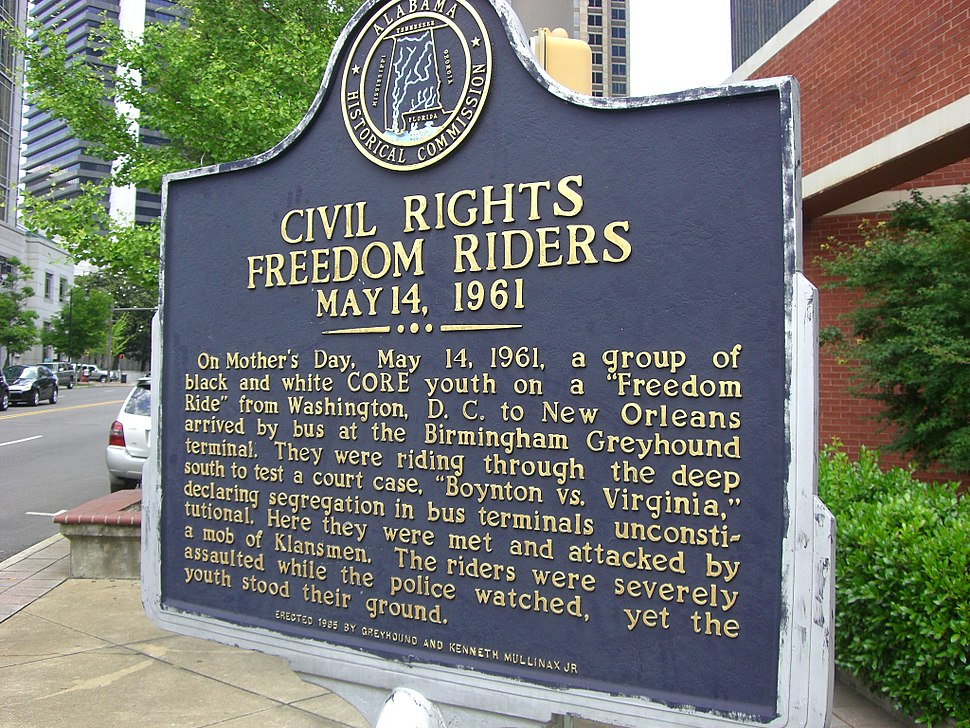 Freedom Rider plaque (4653382530)