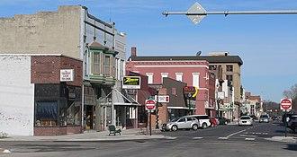 Fremont, Nebraska - Image: Fremont, Nebraska 3rd and Main looking NW
