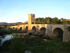Frías, Province of Burgos - Image: Frias burgos puente