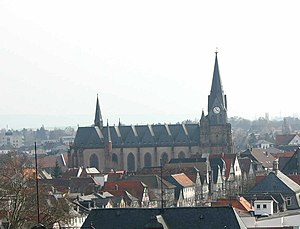 Friedberg, Hesse - Old town of Friedberg