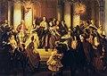 Friedrich August Pecht Friedrich Schiller verlässt das Mannheimer Theater.jpg