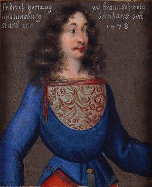 Frederick II, Duke of Brunswick-Lüneburg - Image: Friedrichderfromme