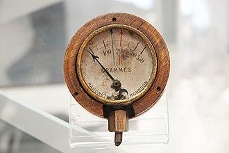 Pressure measurement - Aircraft fuel-pressure gauge