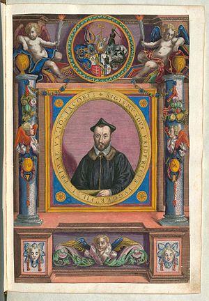 Sigmund Fugger von Kirchberg und Weißenhorn - Sigmund Fugger von Kirchberg und Weißenhorn - coloured copperplate from Fuggerorum et Fuggerarum imagines, 1618.