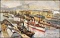 "Fullwood, Albert Henry, 1863-1930 -Wellington, N.Z. Jervois Quay. Raphael Tuck and Sons. ""Oilette"" Postcard 7334. (ca 1900). (21510479101).jpg"