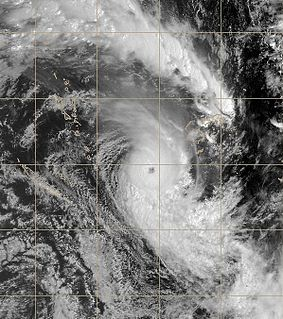 Cyclone Funa Category 4 South Pacific cyclone in 2008