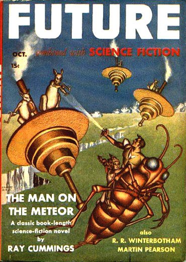 Future Combined with Science Fiction October 1941