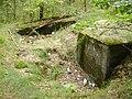 Góraszka, Regelbau 501, Ściana z wyjściem ewakuacyjnym.JPG