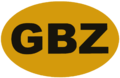 GBZ international vehicle registration oval.png