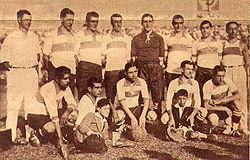 Formación del equipo de 1929.