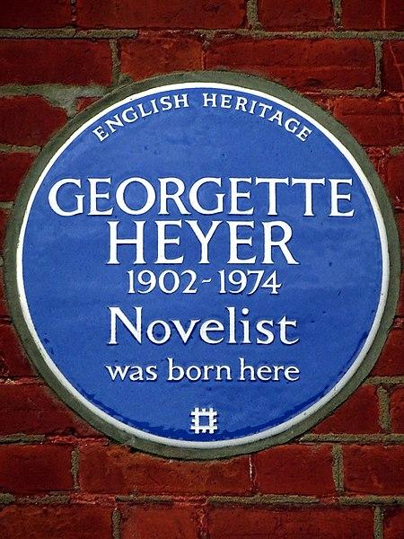 File:GEORGETTE HEYER 1902-1974 Novelist was born here.jpg