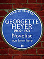 GEORGETTE HEYER 1902-1974 Novelist was born here.jpg
