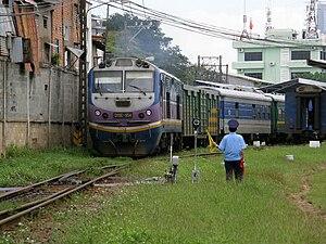 Vietnam Railways - Leaving Sài Gòn Station
