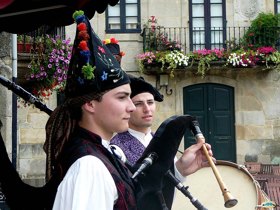 Galician pipers
