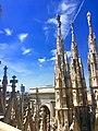 Galleria Vittorio Emanuele dalle guglie del Duomo di Milano.jpg