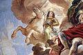 Galleria di luca giordano, 1682-85, giove e apoteosi dei medici 07 giangastone come dioscuro con stella (satellite mediceo).JPG