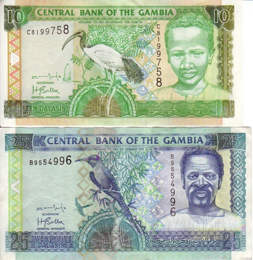 Gambia-banknotes 0001