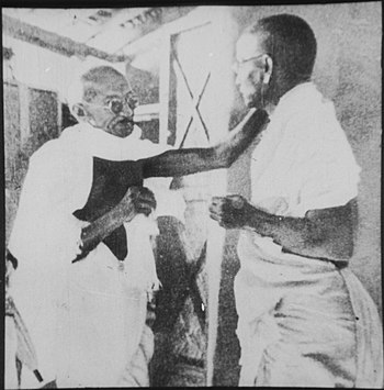 Gandhi and Vinoba Bhave