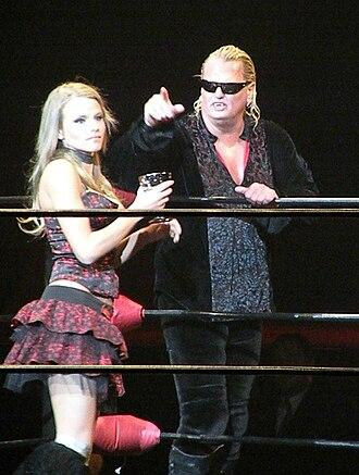 Gangrel (wrestler) - Gangrel in the ring in 2009