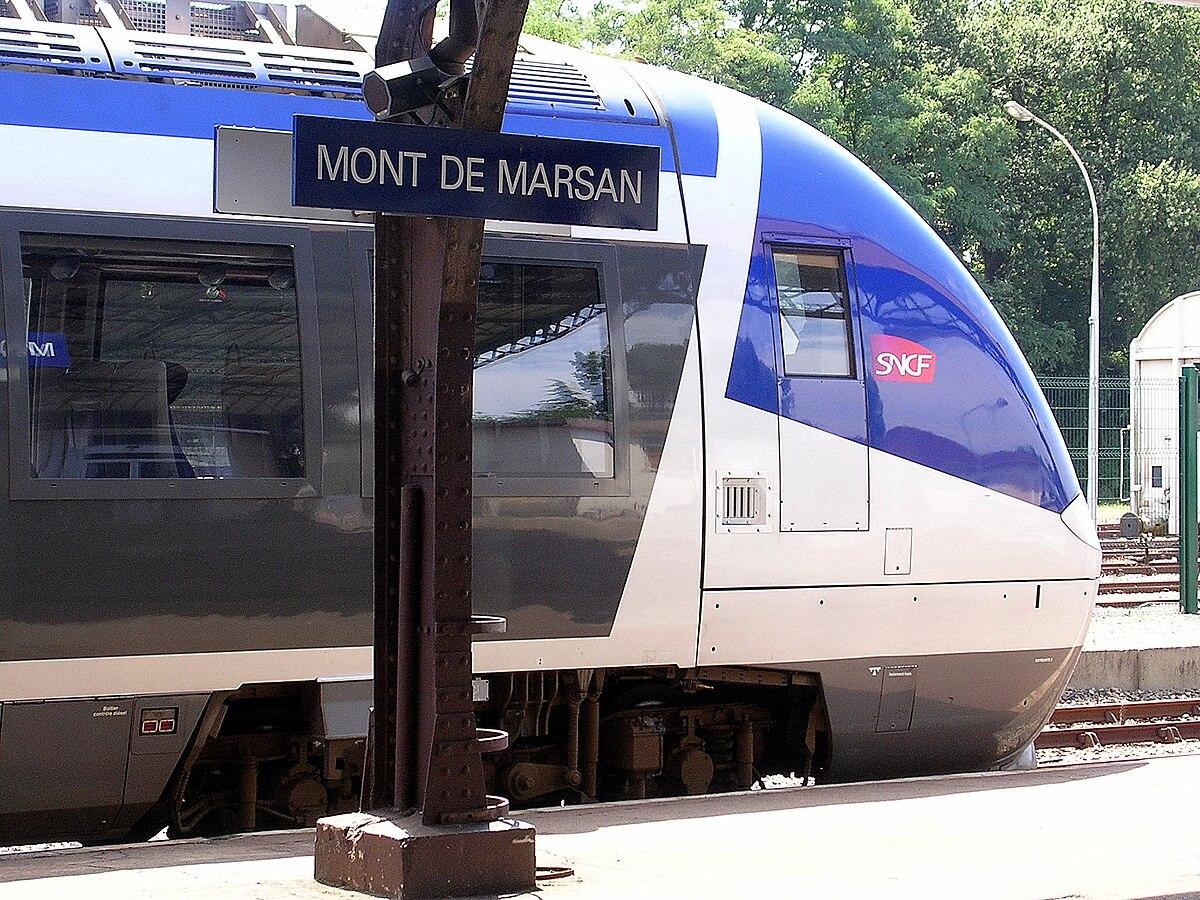 Station mont de marsan wikipedia for Mont de marsan anglet