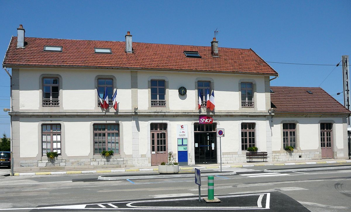 gare de frasne  u2014 wikip u00e9dia