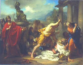 Romulus - Image: Garnier La mort de Tatius