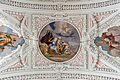 Garsten Pfarrkirche Langhaus Joch 3 Kartusche Fresko.jpg