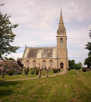 Gavinton, Berwickshire - Parish Church of Langton