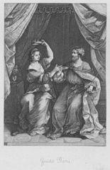 Ninus übergibt der Semiramis seine Krone