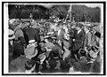 Gen. Pershing receives loving cup from Stuart Walcott post - 10 Amer. Legion with Col. Quekemeyer, 9-(12-24) LCCN2016849411.jpg