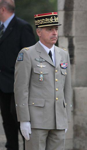 Bernard Barrera - General Barrera in Vincennes in September 2011
