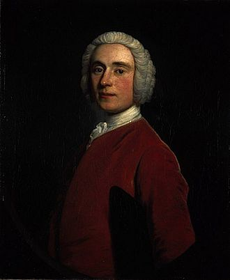James Murray (British Army officer, born 1721) - Portrait of James Murray as a young man by Allan Ramsay (1742) (Scottish National Portrait Gallery, Edinburgh)