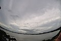 Generally Cloudy Sky As Low Pressure Area Has Formed Over East-central Bay Of Bengal And Adjoining Myanmar Coast - Kolkata 2018-09-20 4244.JPG