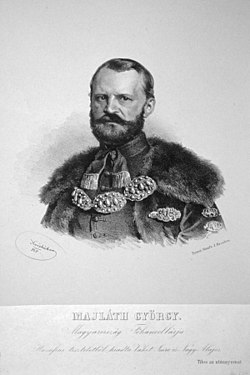 Georg von Majláth junior Litho.jpg